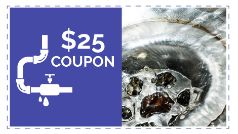 $25 coupon for plumbing services