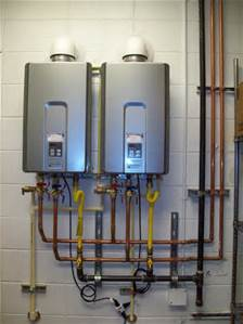 Kelowna and West Kelowna Plumbers - A1 Choice - Tankless hot water system