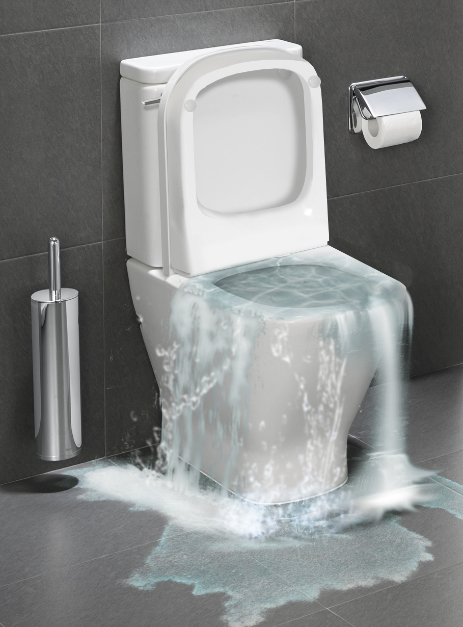 4 quick tips on how to stop an overflowing toilet - A1 Choice Plumbing