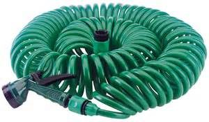 Kelowna and West Kelowna Plumbers - A1 Choice - coiled garden hose