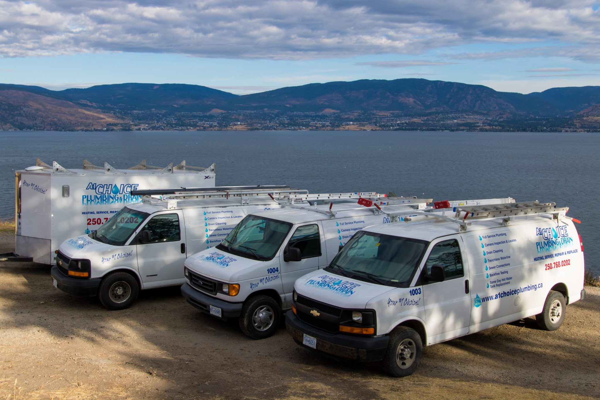 A1 Choice Plumbing Vans Kelowna West Okanagan